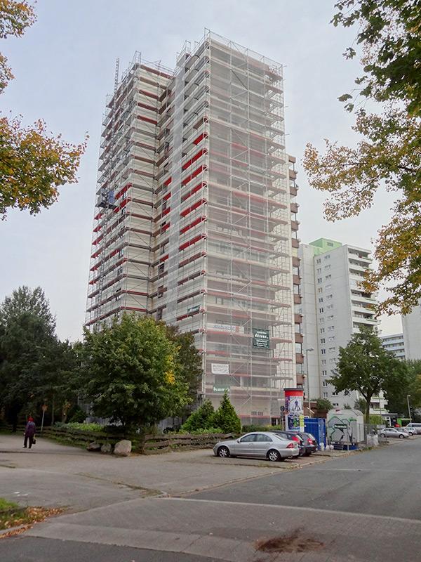 Fassadengerüst, Bremen